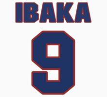 Basketball player Serge Ibaka jersey 9 by imsport