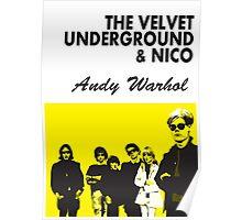The Velvet Underground/Andy Warhol Poster
