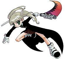 Soul Eater - Maka and Soul Photographic Print