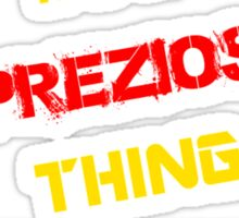 It's a PREZIOSI thing, you wouldn't understand !! Sticker