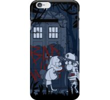 Bad wolf in Gravity falls iPhone Case/Skin