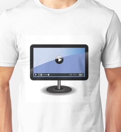 video player Unisex T-Shirt