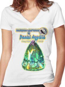 Aquilla - Artist / Photographer Women's Fitted V-Neck T-Shirt