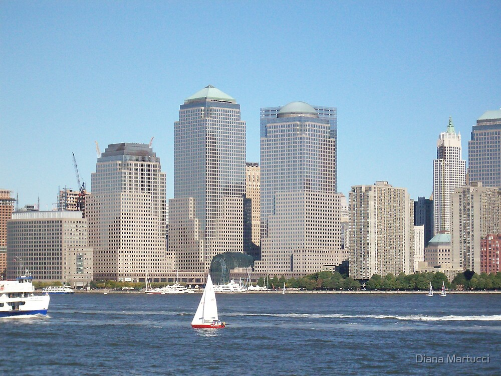 New York Skyline by Diana Martucci