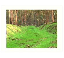Abbey Buggy Grass Rug Art Print