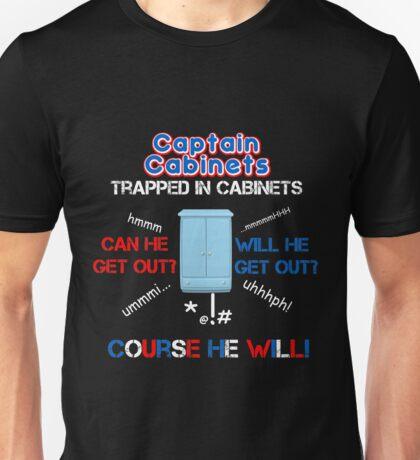 Captain Cabinet Unisex T-Shirt