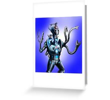 Cyber-Surgeon Greeting Card