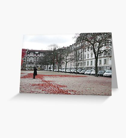stand still and photograph Greeting Card