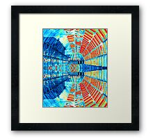 Abstract #1 - Mirrored Glass Framed Print