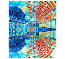 Abstract #1 - Mirrored Glass Poster