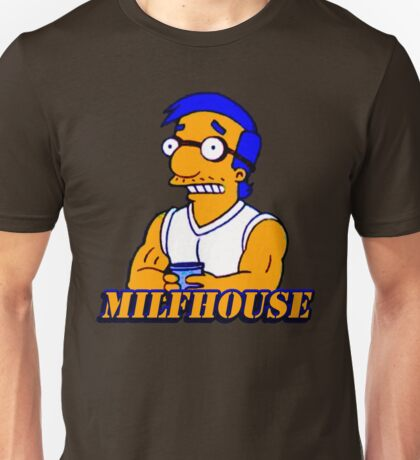 Milfhouse Van Hottie Unisex T-Shirt