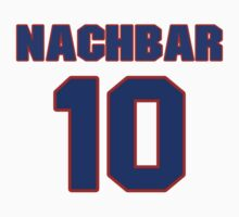 Basketball player Bostjan Nachbar jersey 10 by imsport