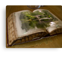 The Picture Book Canvas Print