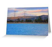 Champion Lake - At Sunset Greeting Card