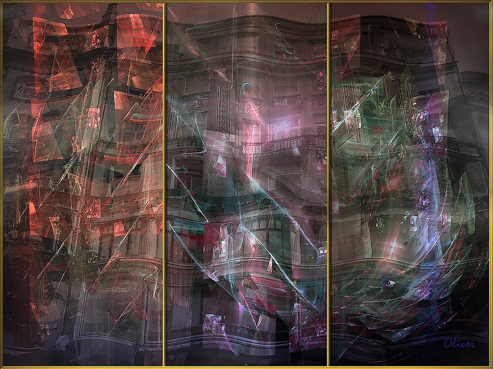 Triptych: Window Shopping by Charles Oliver