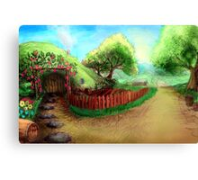 Home Sweet Shire Canvas Print