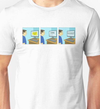 Free Virus Scan Unisex T-Shirt