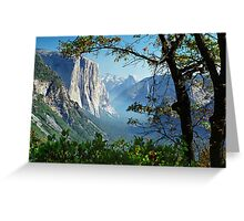 Yosemite Day Greeting Card