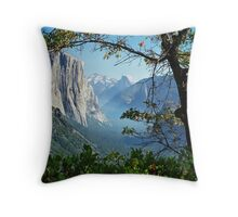 Yosemite Day Throw Pillow