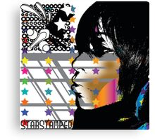 StarStamped Canvas Print