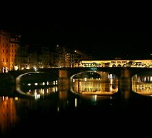 Florence at Night by Ann Marie Donahue