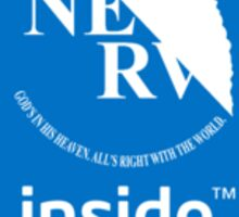 NERV inside logo Sticker