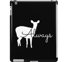 Always Patronus iPad Case/Skin