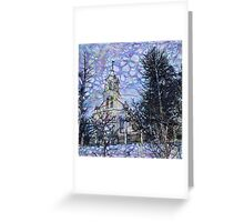 Hyperborean Landscape 1 Greeting Card