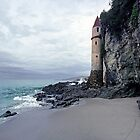 Castle Turret at Victoria Beach, Laguna Beach by Mark Ramstead