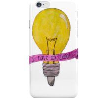 I Have an Idea! iPhone Case/Skin