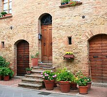 Summertime - Pienza, Italy by Ann Marie Donahue