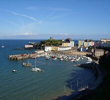 tenby harbour by Andrea Scott