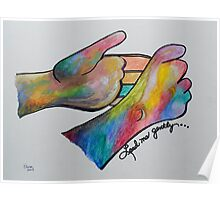 Lead Me Gently - American Sign Language Poster