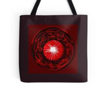 Sunflower Red Tote Bag