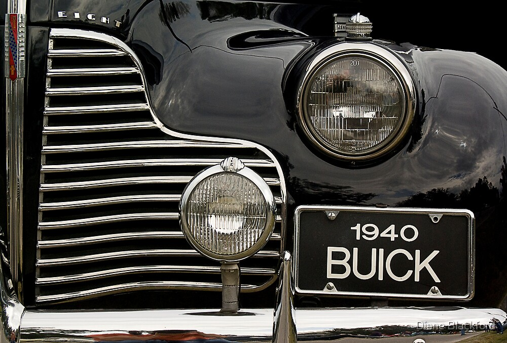 1940 Buick by Diane Blackford