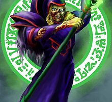 Dark Magician Zombie by Matt Morrow
