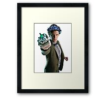 Bowties Are Cool But Flower Crowns Are Better Framed Print