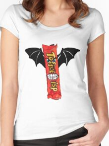 Toffee Crisp Vampire Women's Fitted Scoop T-Shirt