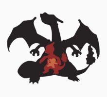 Pokemon - Charizard's Evolutions by Linkuolas