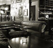 Café, Paris by Aidan Clarkson
