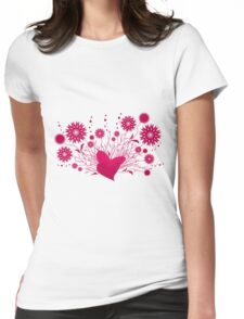 Valentine day  Womens Fitted T-Shirt