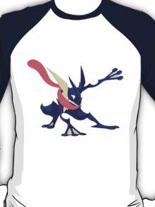 Minimalist Greninja from Super Smash Bros. 4  T-Shirt