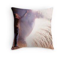 Boys on the Fourth of July Throw Pillow