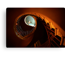 Southern Spiral Staircase Canvas Print