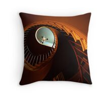 Southern Spiral Staircase Throw Pillow