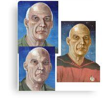 Captain Woodie Picard  Canvas Print