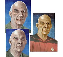Captain Woodie Picard  Photographic Print