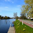Spring at the River Vecht by jchanders