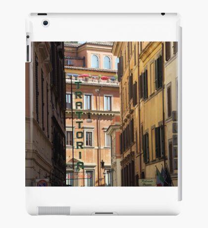 Trattoria - Rome, Italy iPad Case/Skin