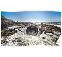 Thor's Well, on the Pacific Coast Poster